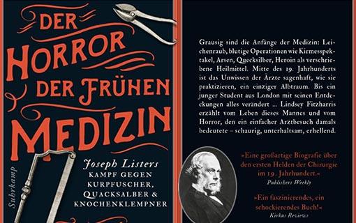 Buchtipp: Der Horror der frühen Medizin